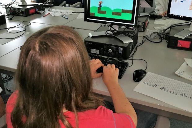 Hacker-Kurs für junge Leute