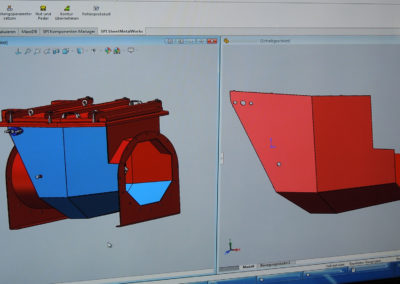 Baugruppe in der CAD Ansicht