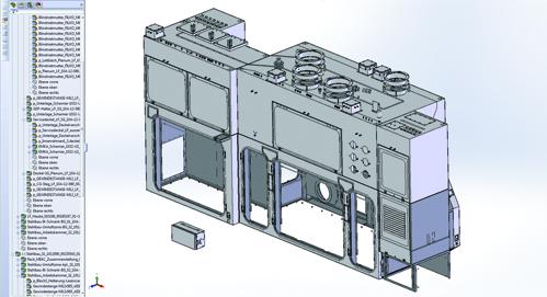 15 Baugruppen mit 370 Einzelteilen