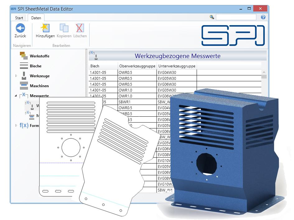SPI Data Editor - Vorschau