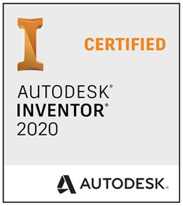 Logo - Autodesk Inventor 2020 Certified | SPI Blechabwicklung