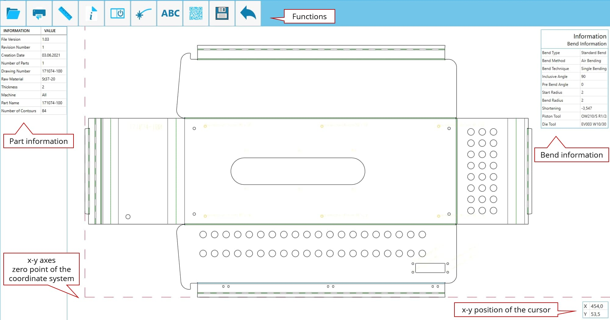SPI CAD Viewer - light theme preview
