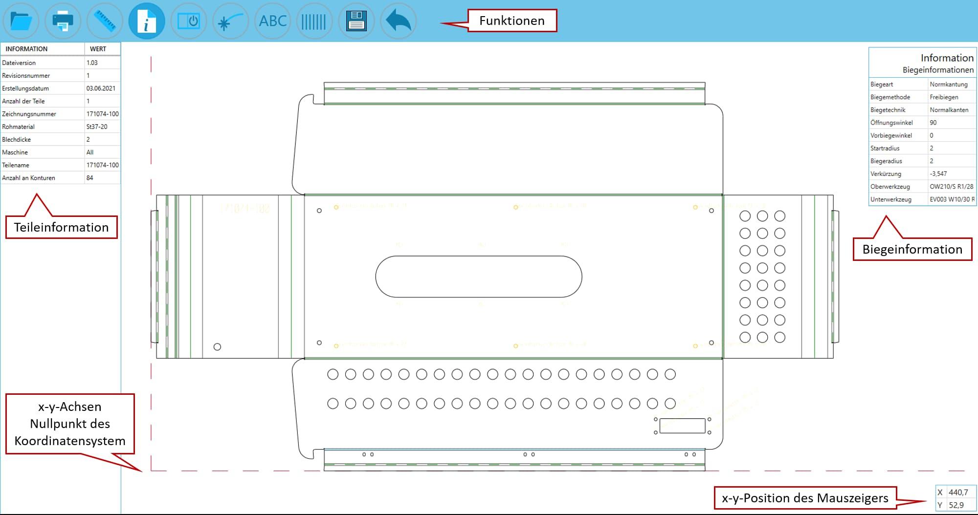 SPI CAD Viewer - helle Oberfläche
