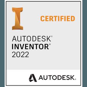 Logo - Autodesk Inventor 2022 Certified